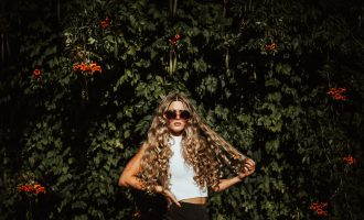 Gorgeous big curls