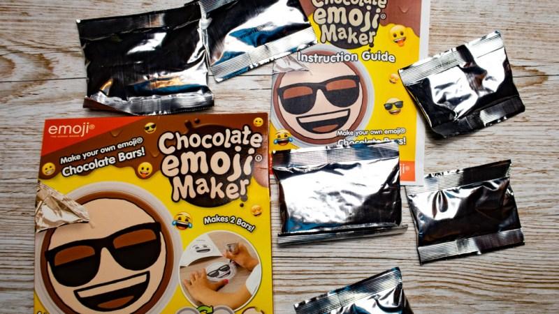 Chocolate Emoji Maker kit