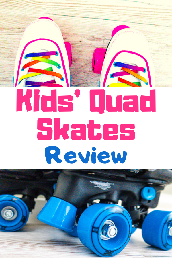 Kids roller skates review - looking for skates? We tried out some adjustable quad skates and some fixed fitting quad skates and this is what we thought! #rollerskates #rollerderby #kidsskates