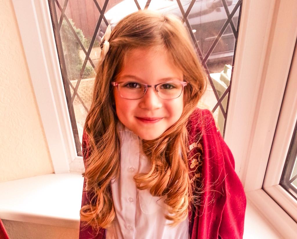 Emma looking cute on a windowsill