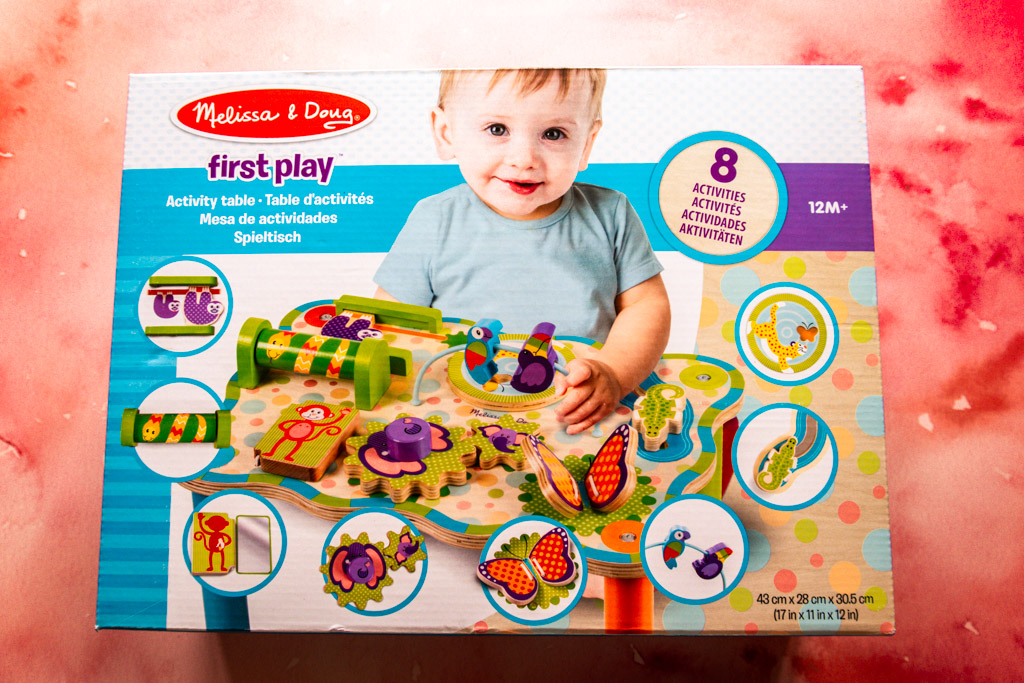 melissa and doug activity table in box