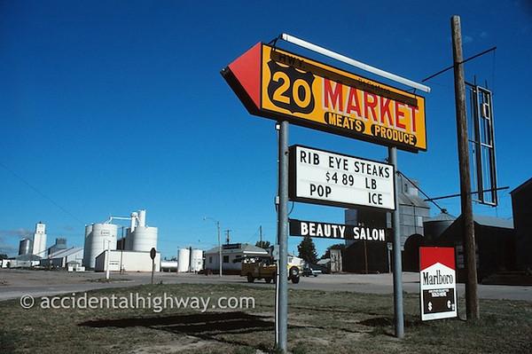 One-Stop ShoppingDeCastros MarketHay Springs, Nebraska© jan albers | all rights reserved