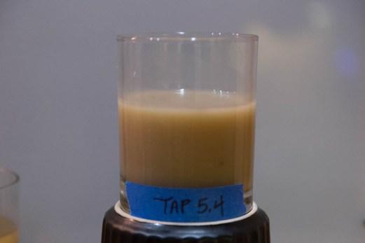 Tart, Milky. No malt flavors. Actual pH was 4.2