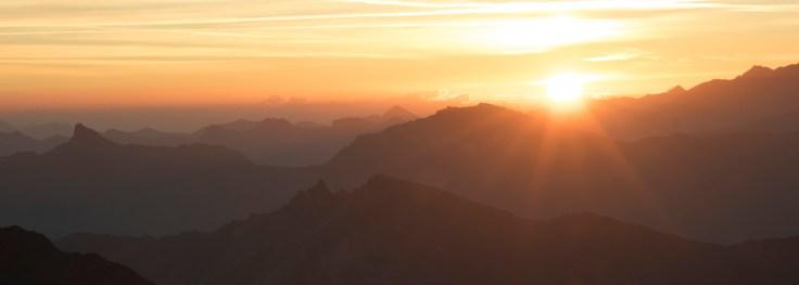 Mont Fort Sunrise