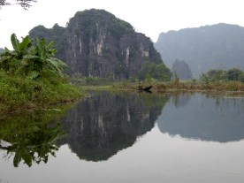 Limestone Karsts and very still waters (that don't run deep!)