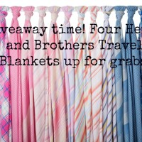 COMPETITION CLOSED! FOUR Henry and Brothers Travel Blankets up for grabs!
