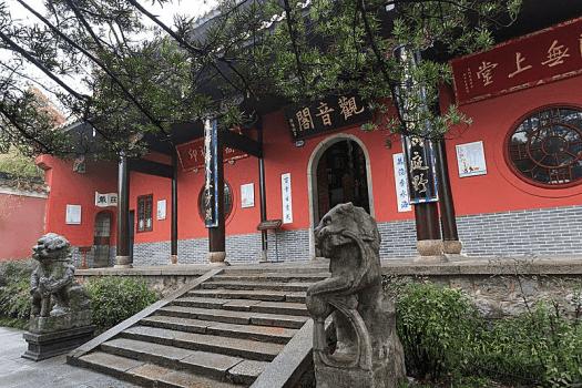 China-Changsha_Yuelu_Shan_Lushan_Si_Zhang-Zhu-Gang