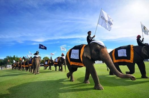 Thailand-Anantara Elephant Polo 2016_Opening Elephant Parade