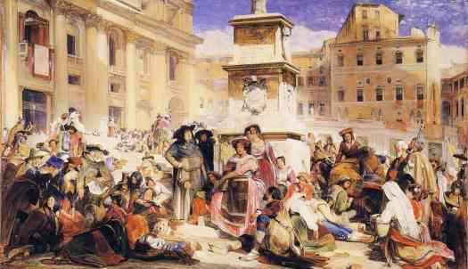 painting-of--easter-day-at-rome