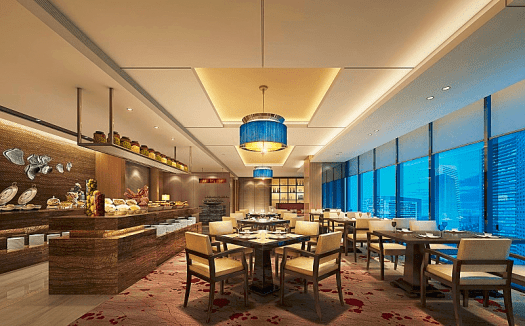Image-of-hotel-restaurant-in-Ningbo-China