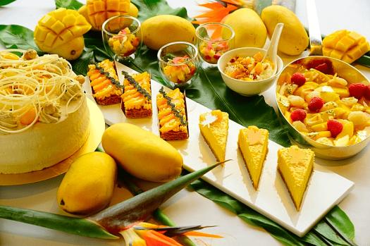 Image-of-mango-desserts-at-harbourside-intercontinental-hong-kong-hotel