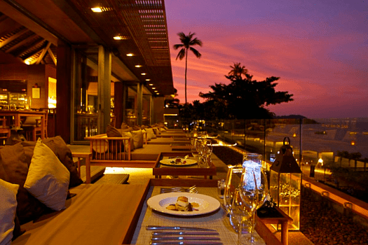 Image-of-koh-samui-restaurant-sunset