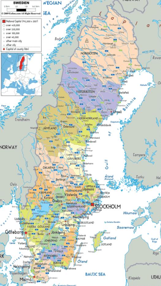 Map-of-Sweden