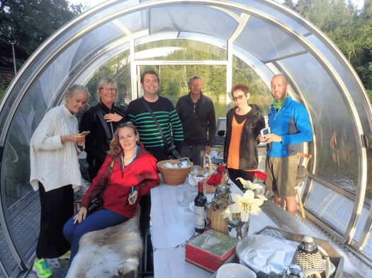 Bloggers-rafting-on-Lodge-River-in-Umea-Sweden