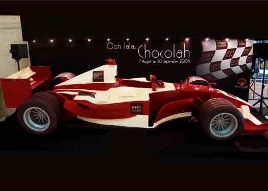 Royal Plaza on Scotts 2008 Chocolate Race Car