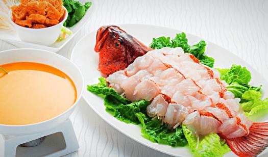 Dynasty8 New menu dish - Poached in Shrimp Broth 濃蝦湯過橋