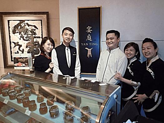 Singapore-st-regis -yan-ting fine dining Chinese restaurant