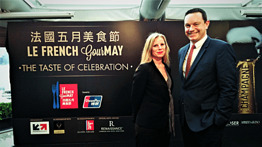 image-of-melanie-gaudin-and thibaut-le-mailloux-at-champagne-press-conference-in-hong-kong-copyright-www.accidentaltravelwriter.net