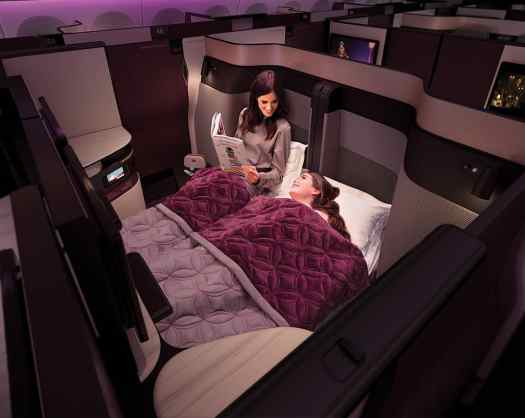 Aviation Qatar Airways Business Class_double QSuites