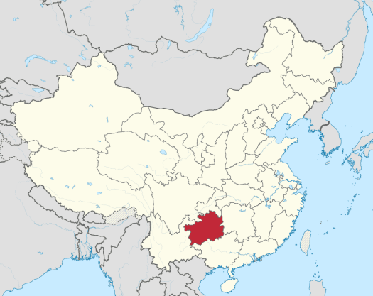 China-map-guizhou