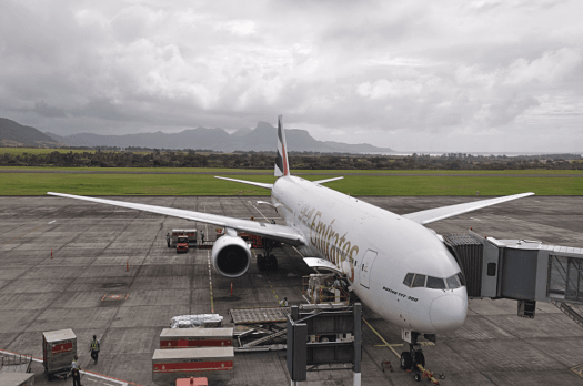 Aviation-emirates-boeing-777-300-at-mauritius-airport