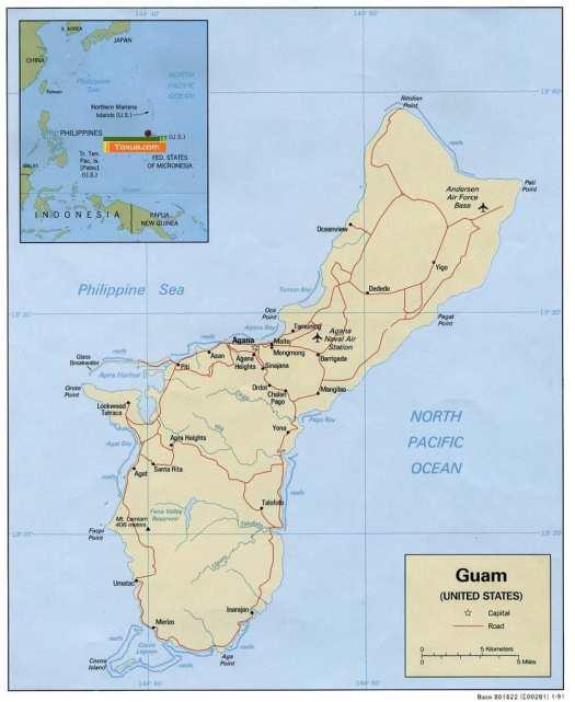 Map-guam