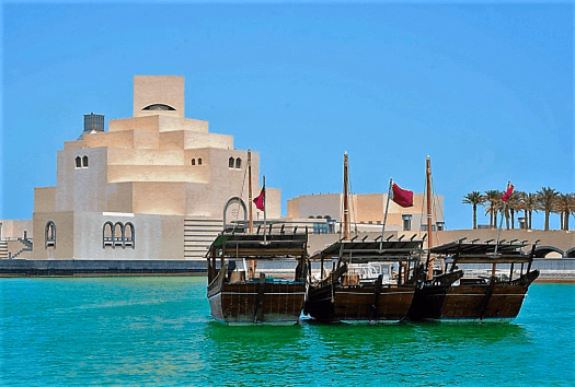 Qatar-Islamic_Museum_of_Art_and_Dhows_credit_Steven_Byles