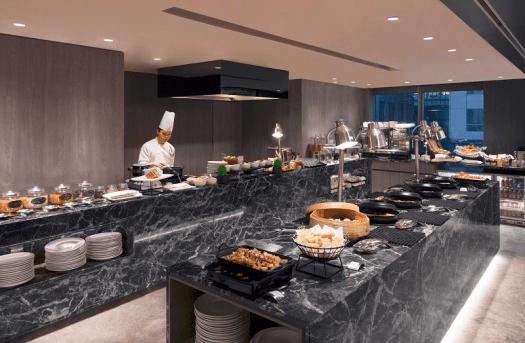 Singapore-hotel-oakwood-que-SE7ENTH-breakfast-buffet