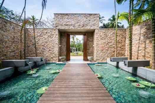 Anantara Peace Haven Tangalle - Spa Walkway