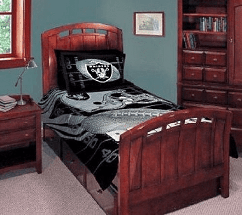 Raiders-queen-bed-linen-set