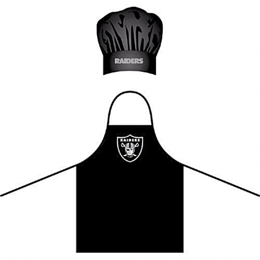 Raiders-chef-hat-and-apron