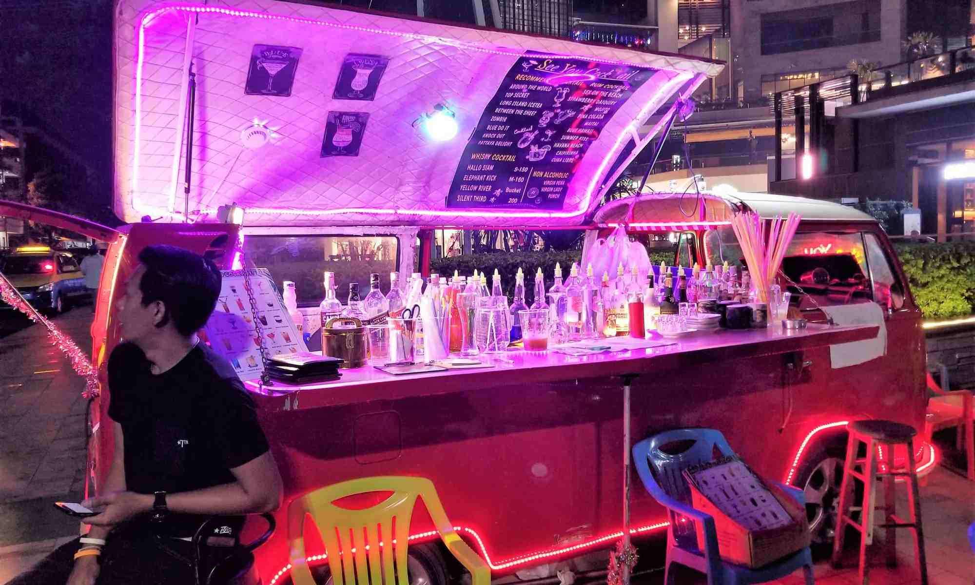 image-of-pattaya-thailand-cocktail-car-outside-shopping-mall