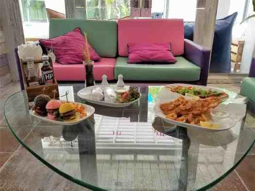 image-of-mercure-hotel-pattaya-aqua-pool-bar-and-club-food-on-table