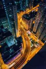 Hong Kong Affordable Art Fair LIU CHI SAN_Nightview_2017_09
