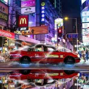 Hong Kong Affordable Art Fair Surrealhk_Flying Taxi_2018_03_Jordan