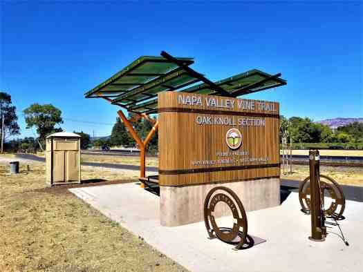 image-of-napa-valley-vine-trail-oak-knoll-rest-stop