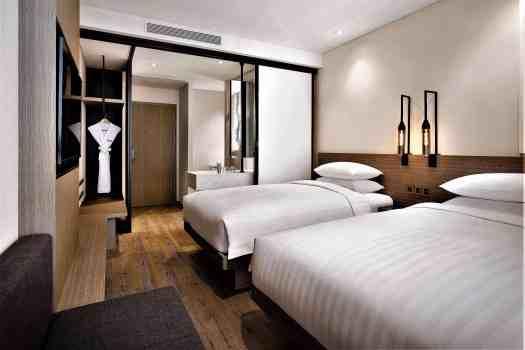 fairfield by marriott busan standard twin hotel room