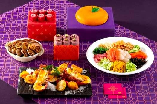 Chinese New Year Buffet at Renaissance Cafe in Hong Kong