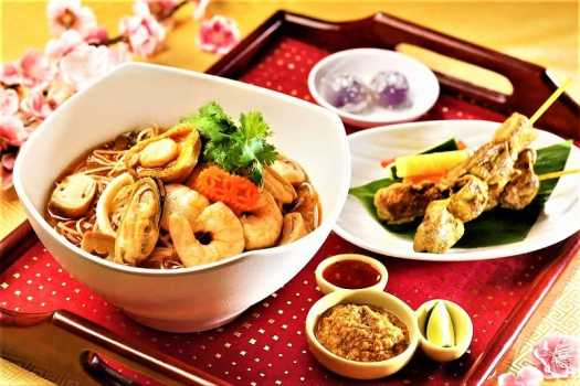 chinese new year thai set menu