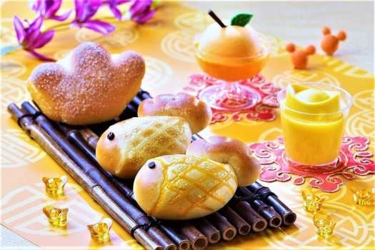 Sweet and savoury Chinese New Year pastries