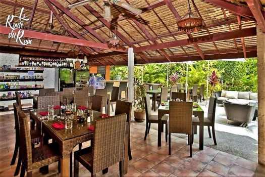 la route du rum thai restaurant dining room in koh samui thaland