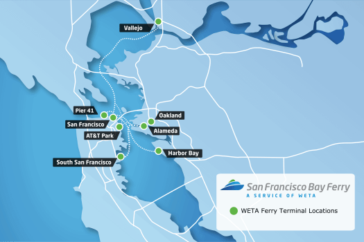 san-francisco-bay-ferry-route-map