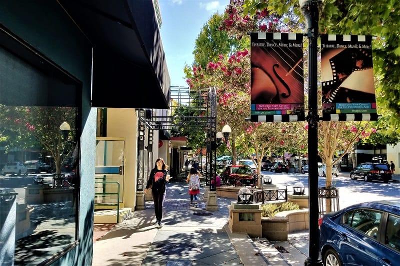 castro-street-downtown-mountain-view-california