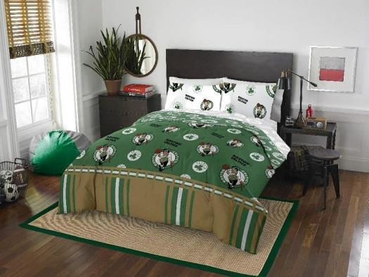 buy-boston-celtics-bedroom-set