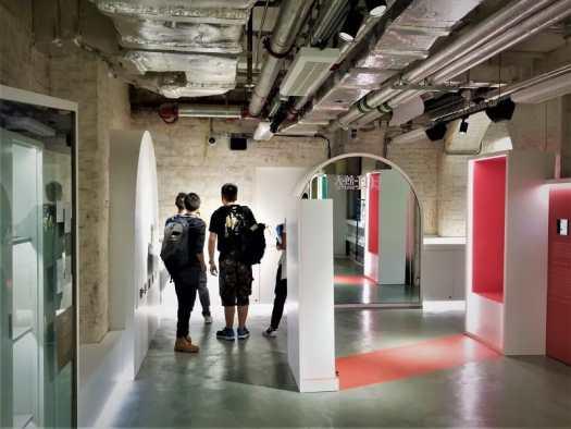 reporters-exploring-tai-kwun-101-exhibition-