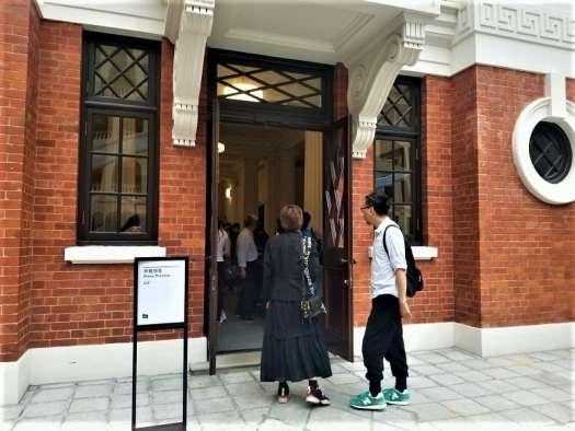 reporters-entering-tai-kwun-101-exhibition-press-conference