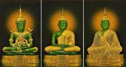 three-golden-robes-of-the-emerald-buddha