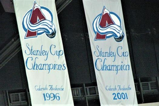 nhl-colorado-avalanche-banners-hanging-at-pepsi-center