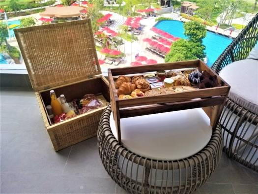 in-room-breakfast-set-up-on-balcony