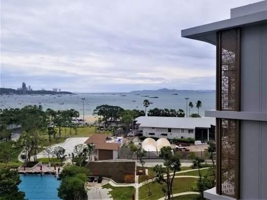 View of Pattaya Bay.